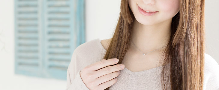ホワイトデーに贈るネックレス